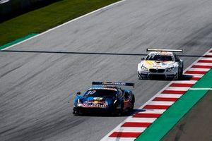 Liam Lawson, AF Corse Ferrari 488 GT3 Evo, Marco Wittmann, Walkenhorst Motorsport BMW M6 GT3