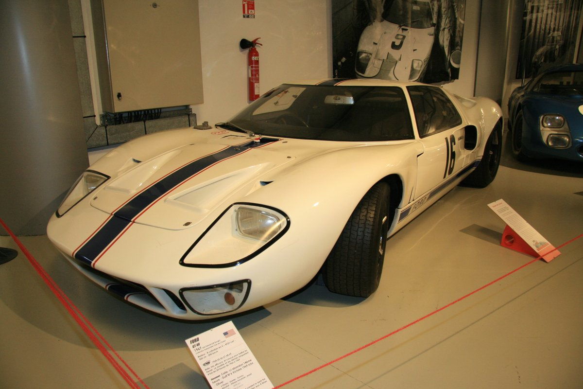 1967年:フォードGT40(Ford GT40)