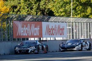 Kelvin van der Linde, Abt Sportsline Audi R8 LMS GT3, Nick Cassidy, AF Corse Ferrari 488 GT3 Evo