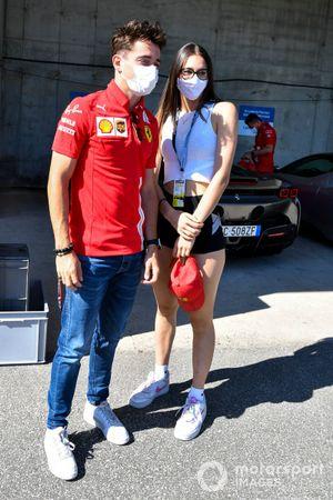 Charles Leclerc, Ferrari with a fan
