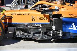 McLaren MCL35M dettaglio