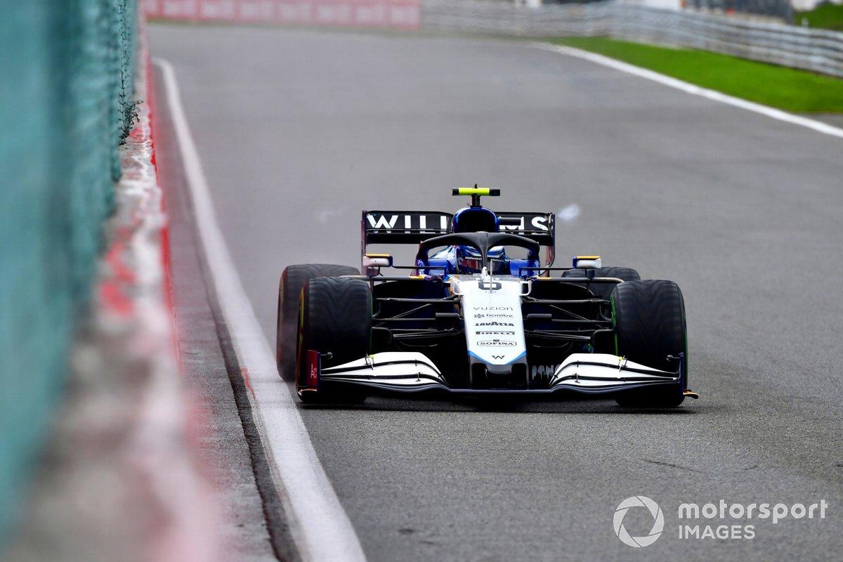 Nicholas Latifi, Williams FW43B