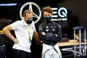 Nyck de Vries, Mercedes-Benz EQ , met Gary Paffett