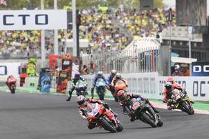 Jorge Martin, Pramac Racing, Fabio Quartararo, Yamaha Factory Racing, Aleix Espargaro, Aprilia Racing Team Gresini