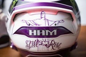 Lewis Hamilton'ın kask tasarımı, Mercedes