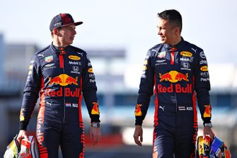 Alex Albon, Max Verstappen, Red Bull Racing