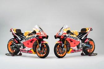 Las motos de Alex Marquez, Marc Marquez, Repsol Honda Team