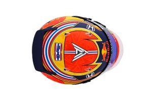 El casco de Alexander Albon para 2020