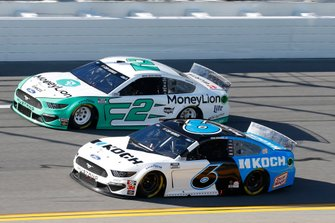 Ryan Newman, Roush Fenway Racing, Ford Mustang Koch Industries Brad Keselowski, Team Penske, Ford Mustang MoneyLion