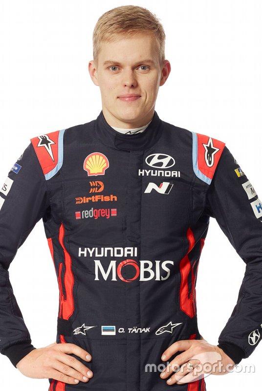 #8 Ott Tanak, Hyundai Motorsport