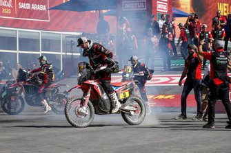 Monster Energy Honda Team celebrate