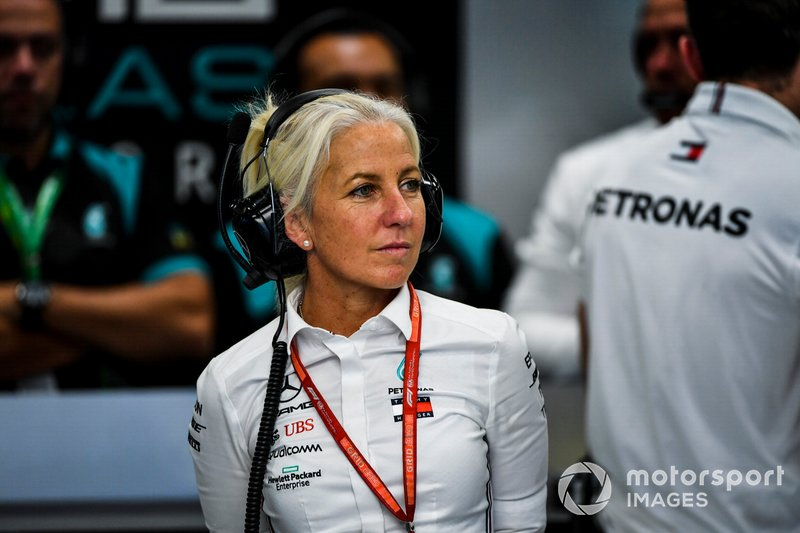 Angela Cullen, Physio for Lewis Hamilton