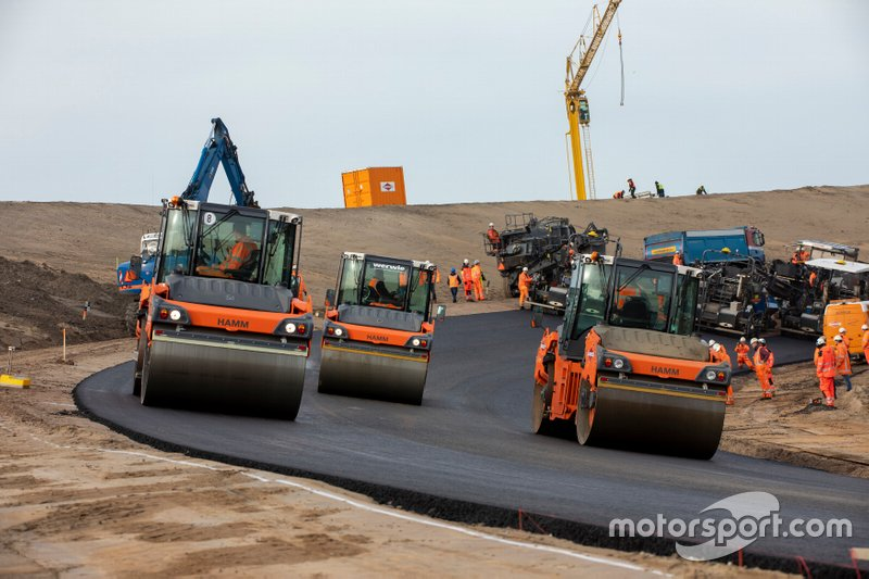 Renovatie Circuit Zandvoort met nieuwe asfaltlaag