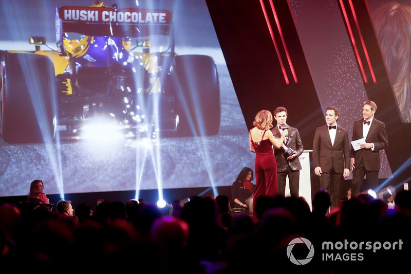 Lando Norris, McLaren, vince il British Competition Driver of the Year award