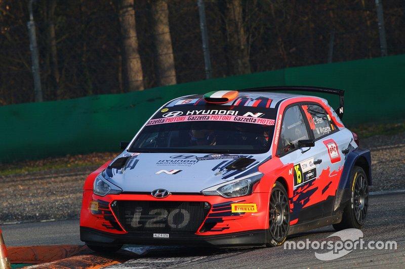 Breen Craig, Wydaeghe Martijn, Hyundai i20, Monza Rally Show