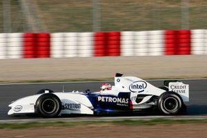 Robert Kubica, Sauber, ai test di gennaio a Barcellona del 2006