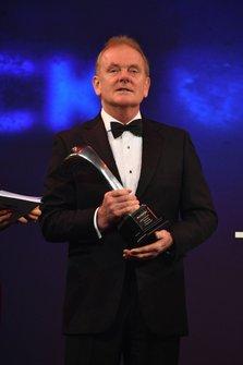 Jonathan Palmer voor de uitreiking van een Gregor Grant Award