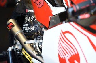 Dimas Ekky Pratama, Honda Team Asia, bike detail