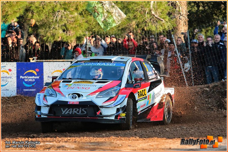 Kris Meeke, Sebastian Marshall, Toyota Yaris WRC