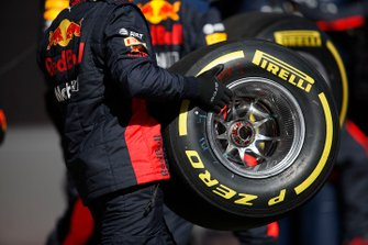 Prove pit stop Red Bull Racing