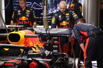 Red Bull Racing RB16 achterzijde detail
