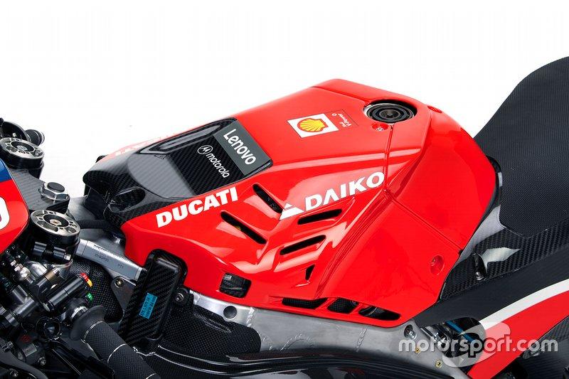 La Desmosedici GP20 que presentó Ducati no era la versión definitiva de la moto de Borgo Panigale, y en un análisis lo desciframos