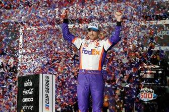 Daytona 500 Race Winner: Denny Hamlin, Joe Gibbs Racing, Toyota Camry