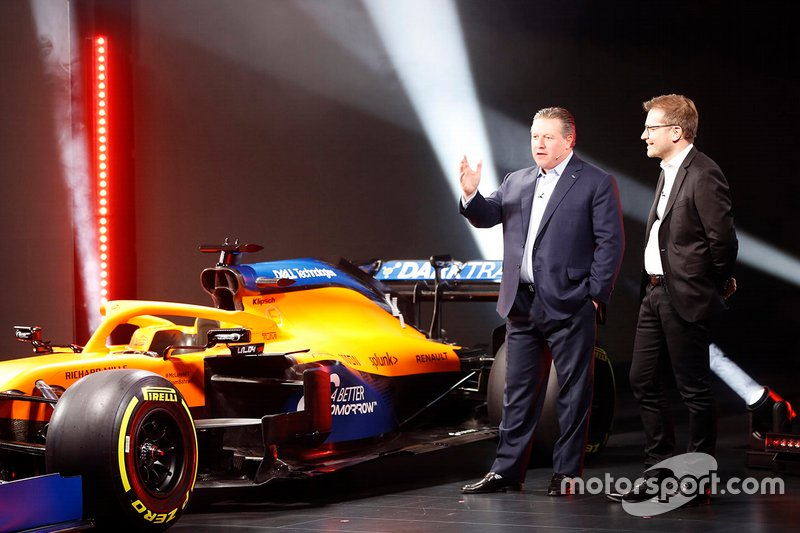 Zak Brown, Executive Director, McLaren e Andreas Seidl, Team Principal, McLaren