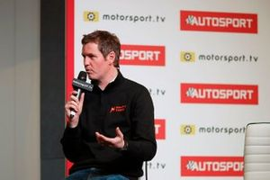 Rob Smedley is interviewed on the Autosport stage