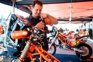 Red Bull KTM Factory Team mechanic