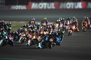 Luca Marini, Sky Racing Team VR46, leads