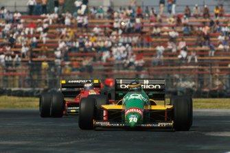 Thierry Boutsen, Benetton B187