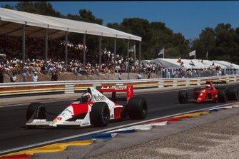 Gerhard Berger, McLaren, Nigel Mansell, Ferrari