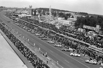 Partenza della 24 ore di Le Mans del 1966