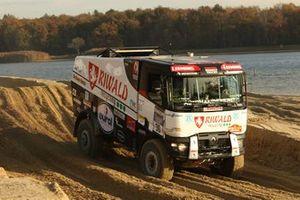 507 Riwald Dakar Team, Gert Huzink, Rob Buursen, Martin Roesing, Renault C460 Hybrid Edition