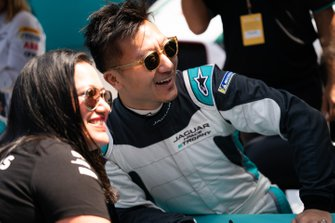 David Cheng, Jaguar China Racing at the autograph session