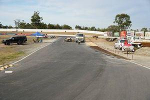 Track works at Winton Motor Raceway