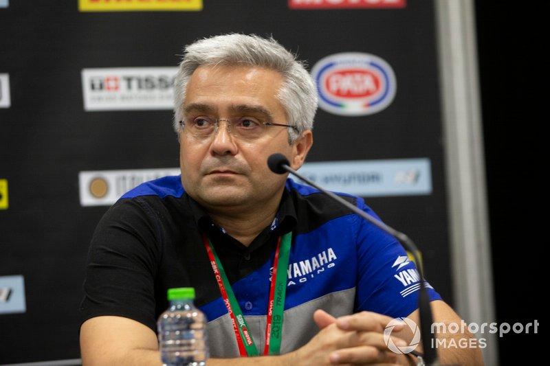 Andrea Dosoli, Yamaha Motor Europe Road Racing Manager