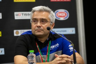 Andrea Dosoli, Yamaha Motor Europe Road Racing Manager