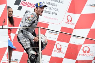 Podio: terzo classificato Jack Miller, Pramac Racing
