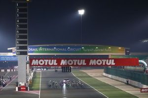 Start der Supersport-300-Klasse in Losail