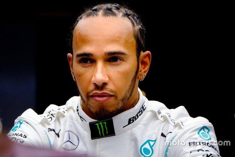 Lewis Hamilton. Mercedes AMG F1