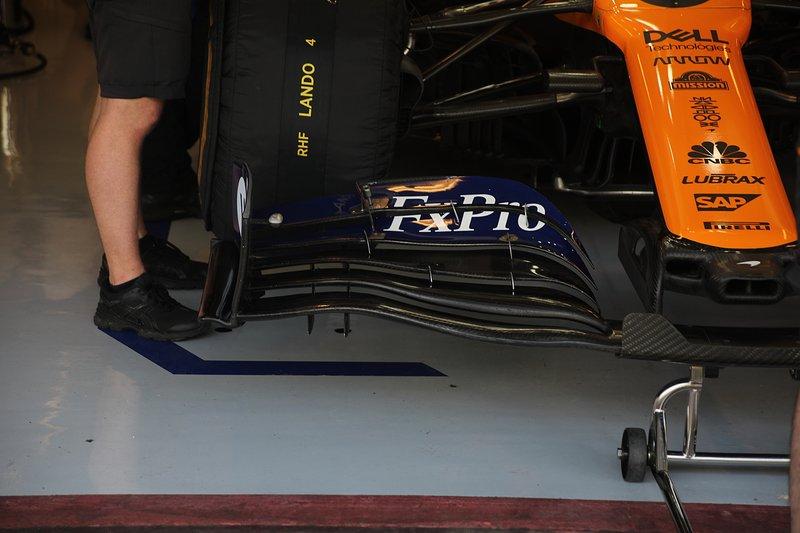 McLaren MCL34, front wing