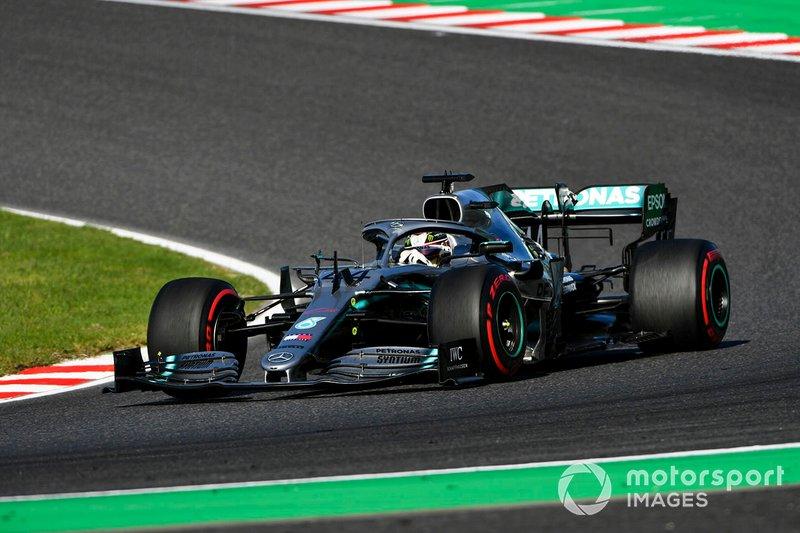 3 - Lewis Hamilton, Mercedes AMG F1 W10