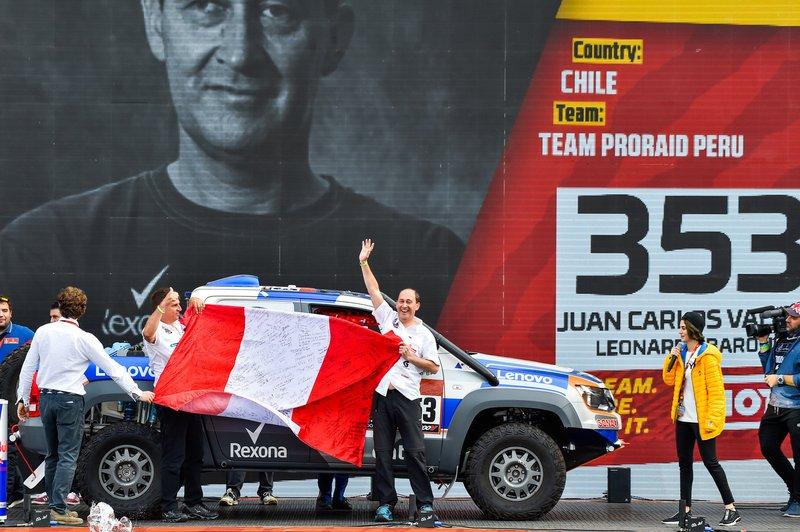 #353 Pro-Raid Perú Volkswagen: Juan Carlos Vallejo, Leonardo Baronio