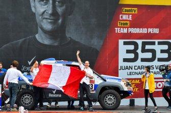 Хуан Карлос Вальехо и Леонардо Баронио, Team Proraid Peru, Volkswagen Amarok (№353)