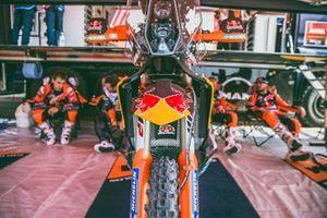 Red Bull KTM Factory Racing team area