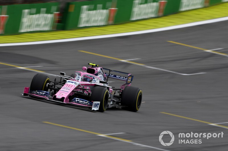 17º - Lance Stroll, Racing Point RP19, 1'09.536
