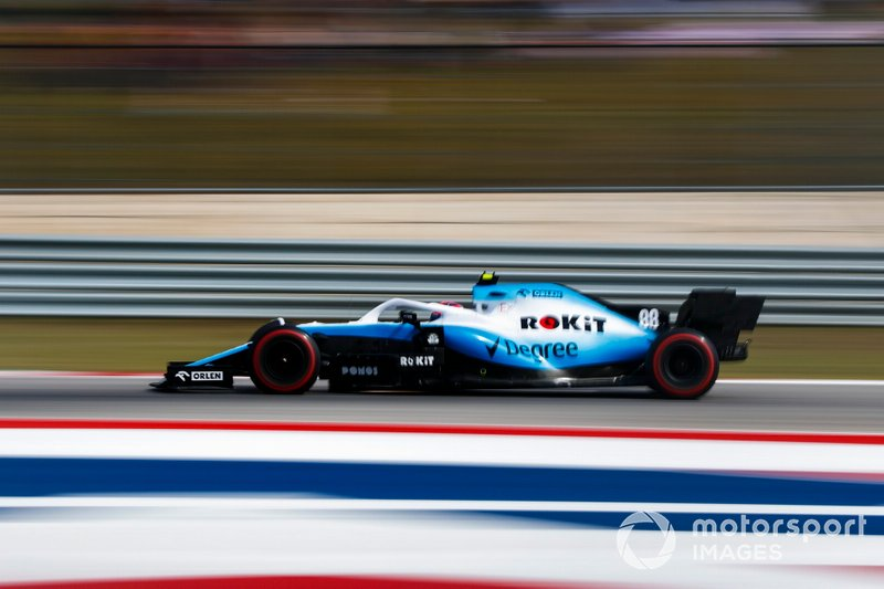 19º: Robert Kubica, Williams FW42