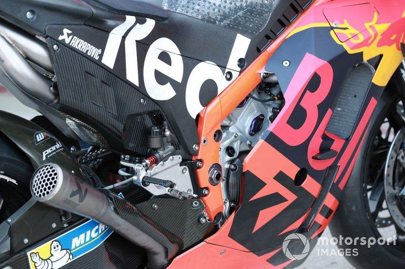 Bike of Dani Pedrosa, Red Bull KTM Factory Racing